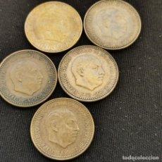Monete Franco: A20. EXCELENTES EJEMPLARES HASTA S/C-!!! SERIE COMPLETA 1 PESETA 1953. VER DESCRIPCIÓN. Lote 233467140