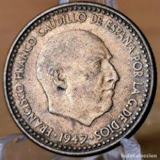 Monete Franco: AB037. EBC. 1 PESETA 1947 *51. Lote 233526720