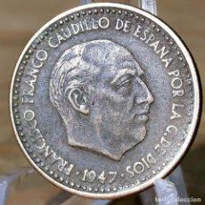 Monete Franco: AB033. MBC+. 1 PESETA 1947 *56. Lote 233527535