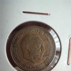 Monedas Franco: 1 PESETA FRANCO 1953 *54 MBC. Lote 233574415