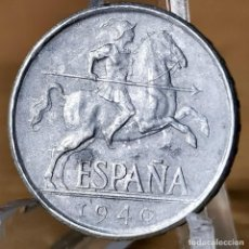 Monete Franco: AB041. S/C. 5 CÉNTIMOS 1940. Lote 233657285
