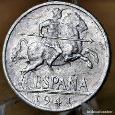Monete Franco: AB068. EBC+ / S/C-. 10 CÉNTIMOS 1941. Lote 233703840