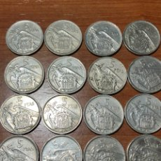 Monnaies Franco: 5 PESETAS FRANCO 1957 |*58-59-60-61-62-64-65-67-68-69-70-71-72-73-74-75. Lote 233944985