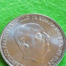 Monedas Franco: 100 PESETAS DE PLATA DE 1966 ESTRELLA 68. MUY BIEN CONSERVADA.. Lote 234315630