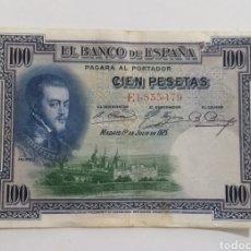 Monnaies Franco: BILLETE 100 PESETAS 1925. Lote 234753120