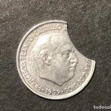 Monedas Franco: MONEDA ESPAÑA 10 CÉNTIMOS CON ERROR. Lote 234823945