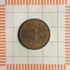 Monnaies Franco: ESTADO ESPAÑOL, 1 PESETA 1944. Lote 234923310