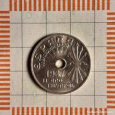 Monnaies Franco: ESTADO ESPAÑOL, 25 CÉNTIMOS 1937. Lote 234935165