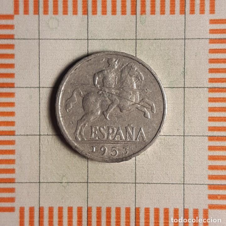 ESTADO ESPAÑOL, 10 CÉNTIMOS 1953 (Numismática - España Modernas y Contemporáneas - Estado Español)