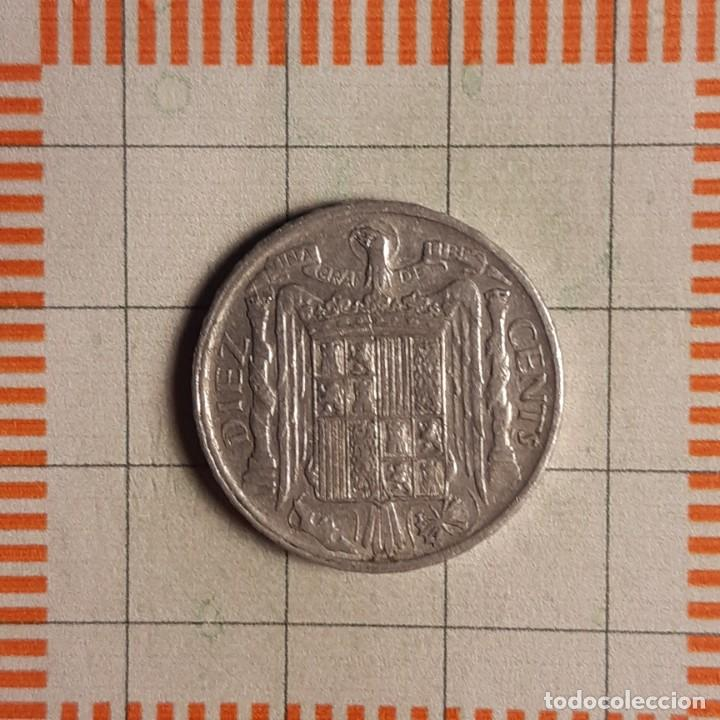 Monedas Franco: ESTADO ESPAÑOL, 10 CÉNTIMOS 1953 - Foto 2 - 234935850