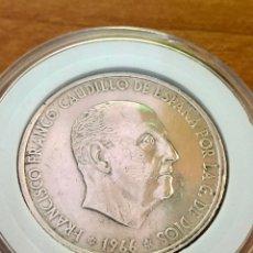 Monedas Franco: 100 PESETAS-PLATA-FRANCO 1966*67-ENCAPSULADA. Lote 235196300