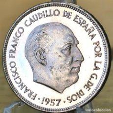 Monedas Franco: AB162. PROOF. 25 PESETAS 1957 *75. Lote 235219700