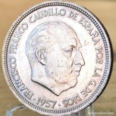 Monedas Franco: AB164. S/C-. 50 PESETAS 1957 *59. Lote 235219760