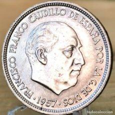 Monedas Franco: AB166. S/C. 50 PESETAS 1957 *67. Lote 235219835