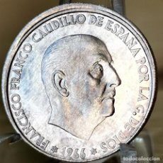 Monedas Franco: AB175. ERROR, S/C. 50 CÉNTIMOS 1966 *69. DESPLAZADA. Lote 235221280