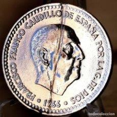 Monedas Franco: AB178. BAÑO PLATA 999. 1 PESETA 1966 *71. Lote 235221740