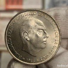 Monedas Franco: ESPAÑA 100 PESETAS - FCO. FRANCO 1966 *68 KM 797 PLATA SC- AUNC. Lote 289796233