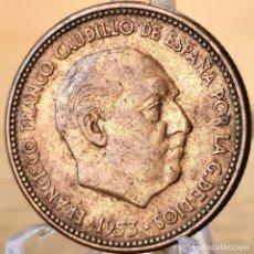 Monnaies Franco: #AB198. 2,50 PESETAS 1953 *54. Lote 235386510