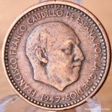 Monete Franco: ⚜️ 1 PESETA 1947 *51. AB210. Lote 235387760