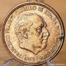 Monnaies Franco: AB214. EBC / EBC+. 2,50 PESETAS 1953 *54. Lote 235387830