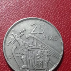 Monedas Franco: 25 PESETAS 1957 * 64 LA DE LA FOTO. Lote 235825820