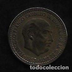 Monedas Franco: MONEDA DE 1 PESETA - ESTADO ESPAÑOL - 1953-62. Lote 235844330