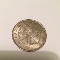 Monedas Franco: MONEDA 100 PESETAS 1966 *67. Lote 236042430