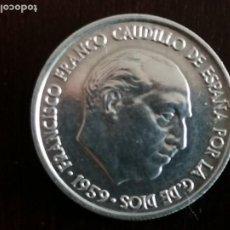 Monedas Franco: MONEDA DE 10 CÉNTIMOS EN ALUMINIO. FRANCO 1959. Lote 236219750