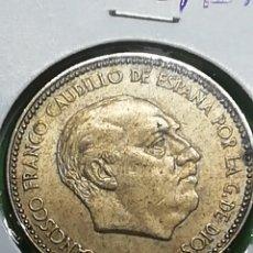 Monedas Franco: MONEDA DE 2.5 PESETAS DE 1953 ESTRELLA* 54. IMPRESIONANTE. ADJUNTO PEDIDOS.. Lote 236222165
