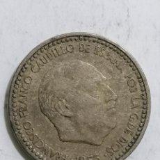 Monedas Franco: MONEDA UNA PESETA 1953. Lote 236242810