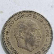 Monedas Franco: MONEDA UNA PESETA 1963, ESTRELLA 64. Lote 236247695