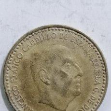Monedas Franco: MONEDA UNA PESETA 1966, ESTRELLA 69. Lote 236248880