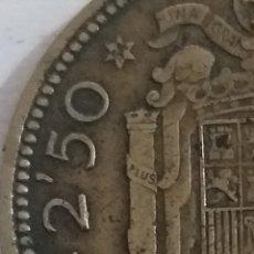 Monedas Franco: MONEDA 2,50 PESETAS 1953 ESTRELLA 54. Lote 236669805