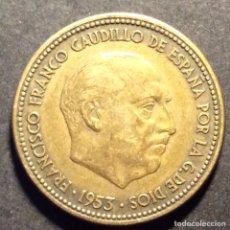 Monedas Franco: MONEDA 2'50 PESETAS AÑO 1953 ESTRELLA 54. Lote 237947405
