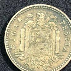 Monedas Franco: MONEDA DE 1 PESETA DE 1963 CON ESTRELLA DEL 63. Lote 241329940