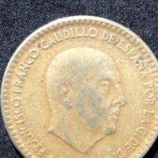 Monedas Franco: MONEDA DE 1 PESETA DE 1966 CON ESTRELLA DEL 67.. Lote 241943650