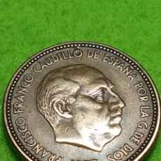 Monedas Franco: ANTIGUA MONEDA DE 2.5 PESETAS DE 1953 ESTRELLA 56. ADJUNTO PEDIDOS. Lote 241954220