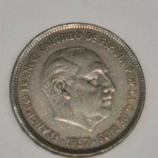 Monedas Franco: MONEDA DE 50 PESETAS FRANCISCO FRANCO 1957*71 (ESCASA). Lote 242886640