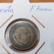 Monedas Franco: PESETA DE 1947 * 52. Lote 243272130