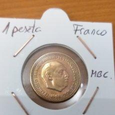 Monedas Franco: PESETA 1953 * 62 MBC. Lote 243280075