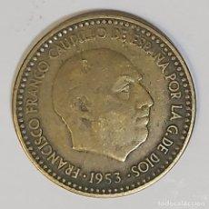 Monedas Franco: 1 PESETA FRANCISCO FRANCO. AÑO 1953 *19-63*. Lote 243298025