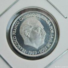 Monedas Franco: LOTE DE 10 MONEDAS PROOF SIN CIRCULAR. Lote 243352530