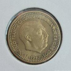 Monedas Franco: 1 PESETA 1947 *49 EBC+ CASI SIN CIRCULAR YA NO SE ENCUENTRAN EN ESTE ESTADO. Lote 243361435