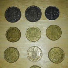 Monedas Franco: LOTE MONEDAS 1975. Lote 243396565