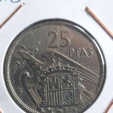 Monedas Franco: 25 PTAS 1957 * 65. Lote 244541080