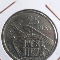 Monedas Franco: 25 PTAS 1957 * 66. Lote 244541890