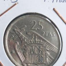 Monedas Franco: 25 PTAS 1957 * 75. Lote 244544120