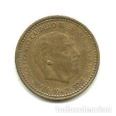 Monedas Franco: MONEDA ESPAÑA 1947-53. 1 PESETA. KM775. ESTADO ESPAÑOL.. Lote 244555595