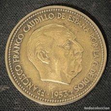 Monedas Franco: 2,5 PESETAS 1953 *19*56. Lote 244591215