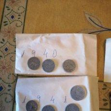 Monedas Franco: LOTE DE MONEDAS DE ESPAÑA DE DIVERSOS AÑOS. (MÁS DE 450) VER RESTO FOTOS. Lote 244778050